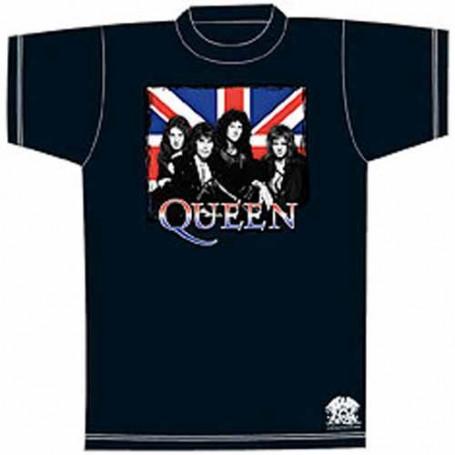 Queen T-Shirt Union Jack