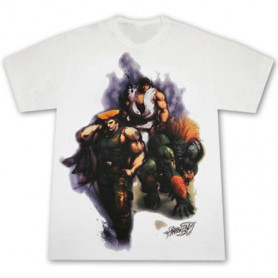T-Shirt Street Fighter Trio Neca