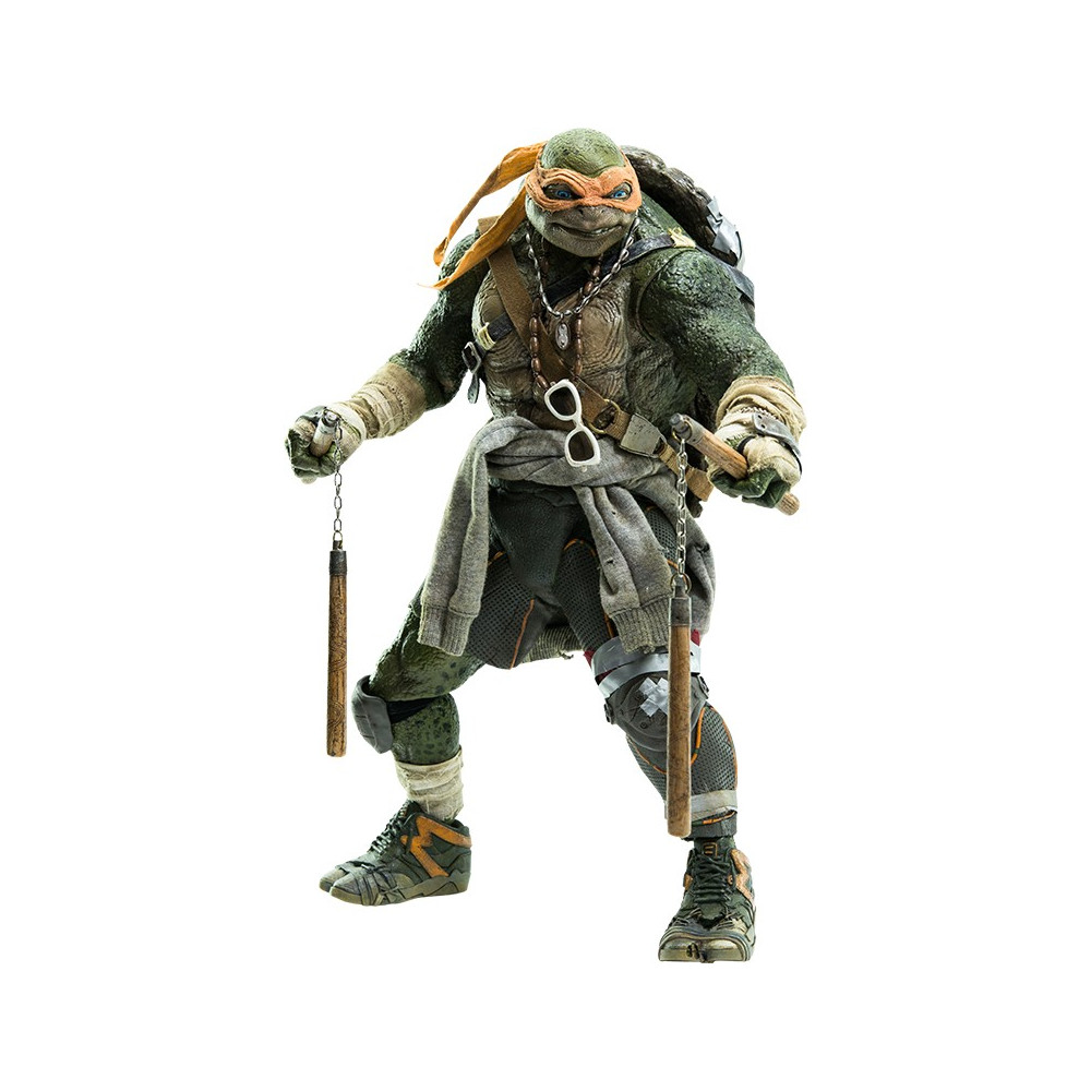 Threezero tmnt tortues ninja figurine michelangelo - Le rat des tortue ninja ...
