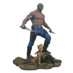 Diamond Marvel Gallery Figurine Drax et Baby Groot gardiens de la Galaxie