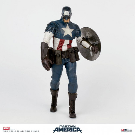 Three A - Marvel Captain America by Ashley Wood 32 cm
