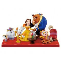 Banpresto Disney Characters WCF Story08 Beauty and the Beast Full set