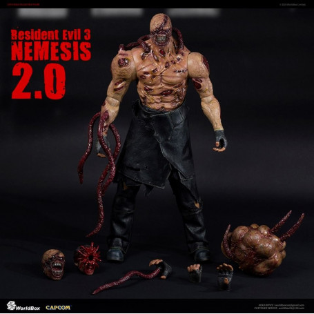 WorldBox Resident Evil 3 Boss 1/6 Nemesis 2.0