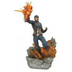 Diamond Millestones Marvel statue Captain America Civil War