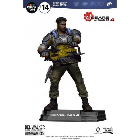 McFarlane Gears of War 4 - Figurine Delmont 'Del' Walker