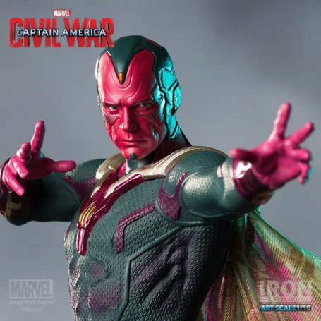 Iron Studios Statue 1/10 Captain America Civil war - Vision