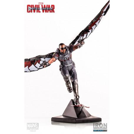 Iron Studios Statue 1/10 Captain America Civil war - Falcon