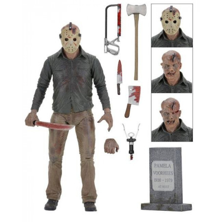 """NEUF le chapitre final NECA Friday the 13TH Part 4 7/"""" ULTIMATE JASON Figure"""
