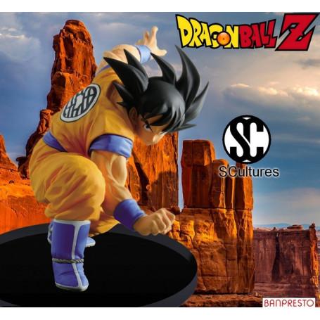 Banpresto Dragonball Z figurine Scultures Big Budokai7 Son Goku