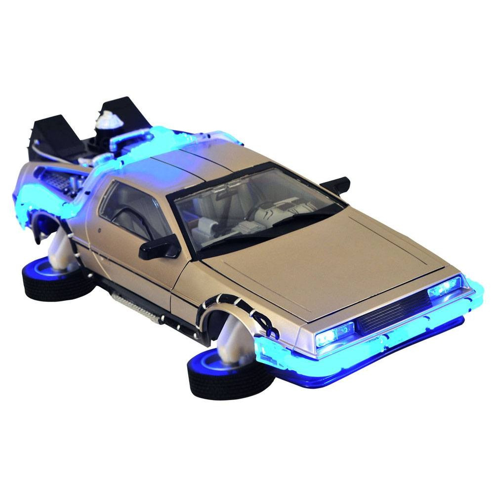 diamond retour vers le futur ii delorean mark ii figurine collector. Black Bedroom Furniture Sets. Home Design Ideas