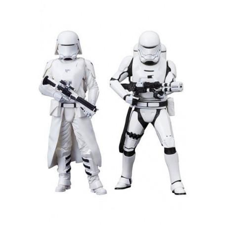 Kotobukiya Star Wars Episode VII pack 2 First Order Snowtrooper & Flametrooper