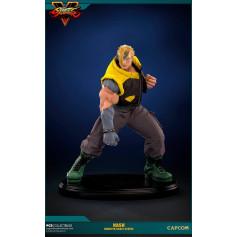 Pop Culture Shock Street Fighter Statue Nash