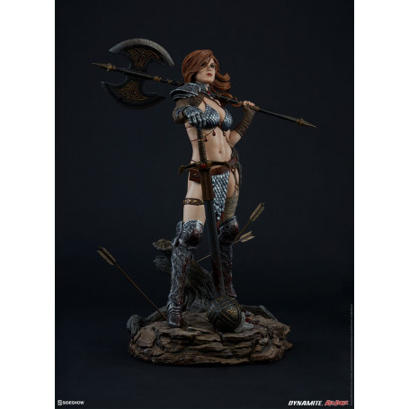 Sideshow Red Sonja statue Queen of Scavengers Premium Format