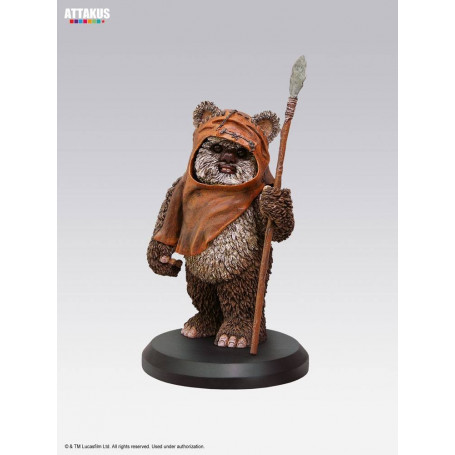Attakus Star Wars Elite Collection statue Wicket 9 cm