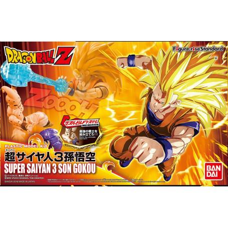 Bandai FIGURE-RISE DRAGON BALL Z Saiyan 3 Son Goku Maquette Model Kit