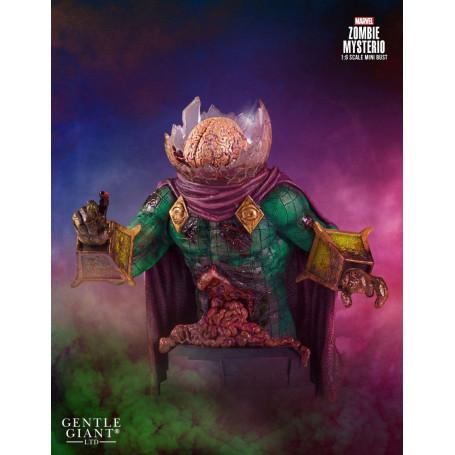 Gentle Giant Marvel buste 1/6 Zombie Mysterio 18 cm