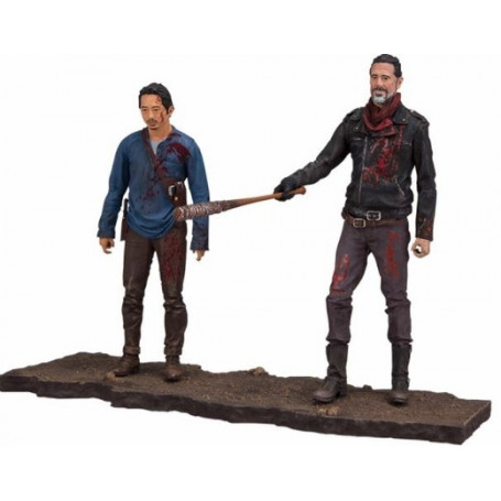 McFarlane Walking Dead TV Version pack 2 figurines Negan & Glenn 13 cm