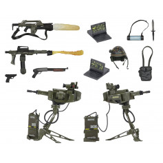 Neca Aliens Accessory Pack USCM Arsenal Weapons Pack