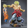 Tsume Broly HQS + King of destruction Statue Legendary Super Saiyan