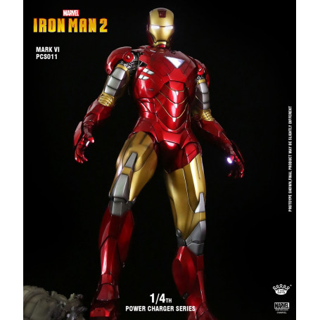 King Arts 1/4 PCS011 Iron Man 2 - Iron Man Mark VI