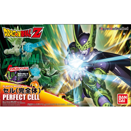 Bandai FIGURE-RISE DRAGON BALL Z Perfect Cell Model Kit