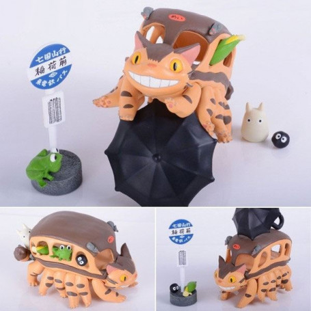 Mon voisin Totoro pack 13 figurines Chatbus