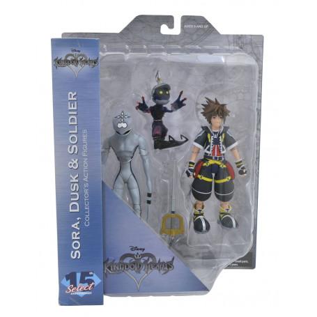 Diamond Select Kingdom Hears - Set Sora Dusk et Soldier