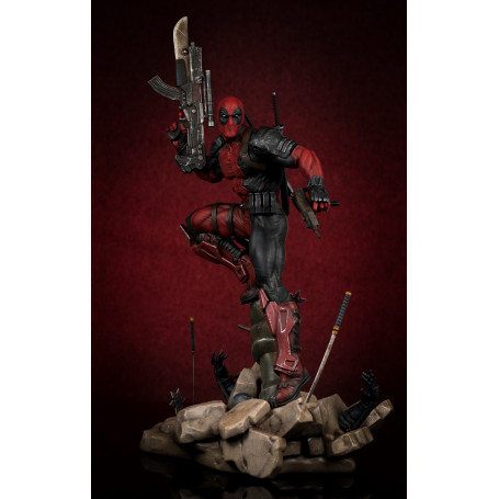 Marvel Deadpool 1/6TH COLLECTIBLE STATUE Semic Prototype Z