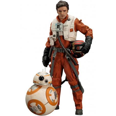 Kotobukiya Star Wars Episode 7 - Pack Figurine Poe Dameron et BB-8