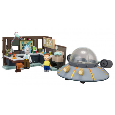 McFarlane Rick and Morty Large Spaceship & Garage