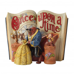 Enesco Disney Traditions Histoire de La belle et la Bete