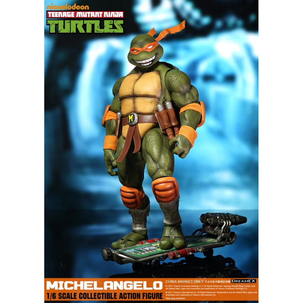 Dream ex tmnt michelangelo 1 6 scale tortues ninja - Tortue ninja michael angelo ...