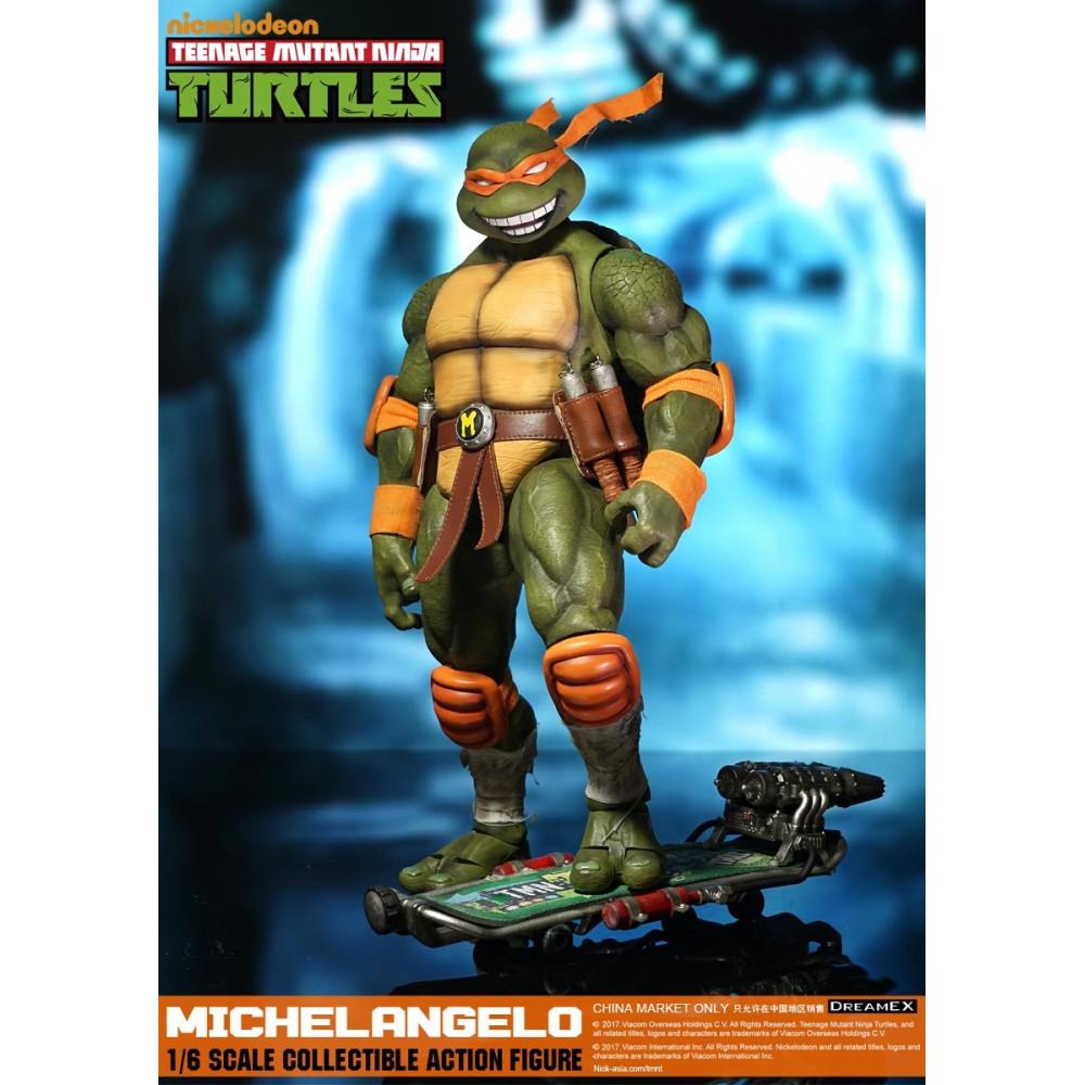 Dream ex tmnt michelangelo 1 6 scale tortues ninja - Tortues ninja michelangelo ...