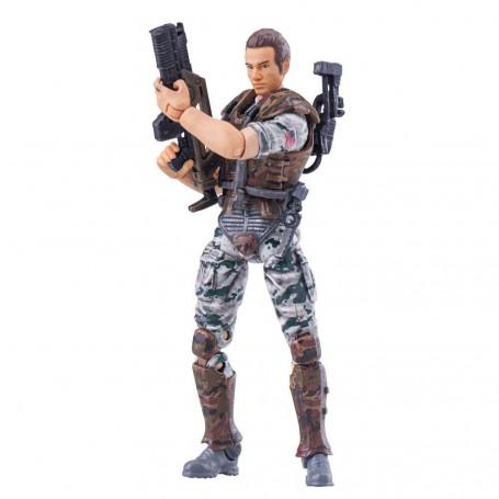 Hiya Toys Aliens Colonial Marines figurine 1/18 Hicks 10 cm
