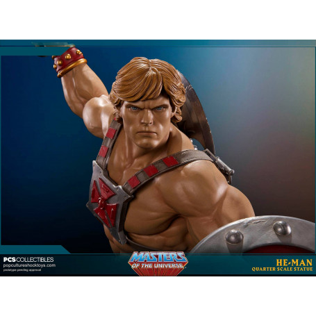 Pop Culture Shock Statue Maitres de l'univers He Man 1/4 Musclor