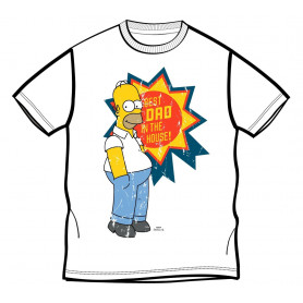 T-Shirt Simpsons Homer Best Dad in the house