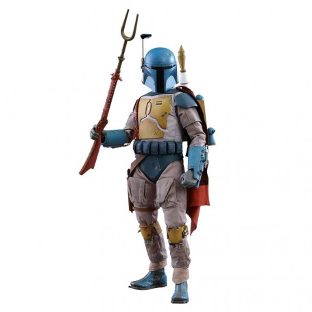 Star Wars Television Masterpiece 1/6 Boba Fett Animation Ver. Star Wars Holiday Special Sideshow Exclusive 30 cm
