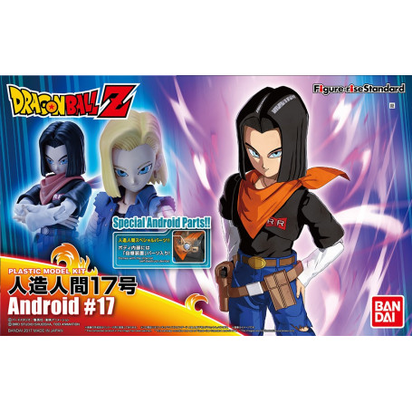 Bandai FIGURE-RISE DRAGON BALL Z C-17 Android Model Kit