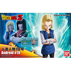 Bandai FIGURE-RISE DRAGON BALL Z C-18 Android Model Kit