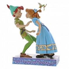 Enesco Disney Showcase Peter pan An Unexpected Kiss