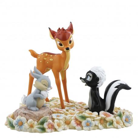 "Enesco Disney Bambi ""Pretty Flower Bambi"""