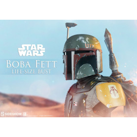 Sideshow Buste Star Wars Boba Fett Life Size 1/1 - 77cm