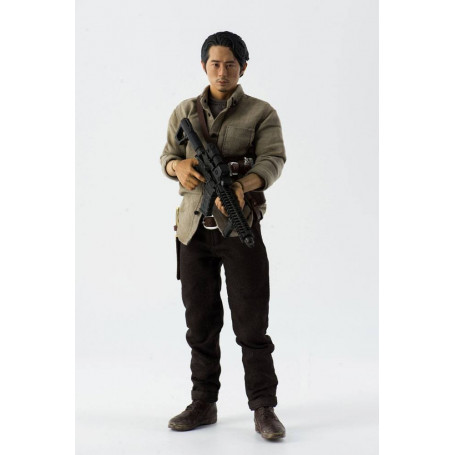 Three Zero The Walking Dead Figurine Glenn Rhee 29 cm