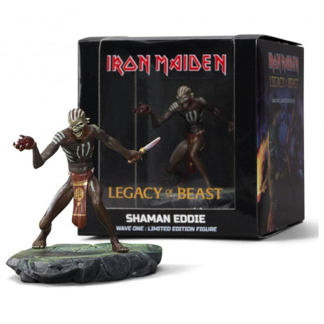 Iron Maiden Legacy of the Beast figurine Wave 1 PVC Shaman Eddie