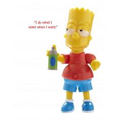 The Simpsons Bart Talking Figure