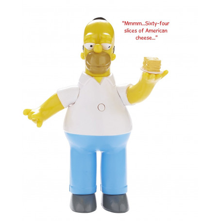 The Simpsons Homer Simpson Talking Figure