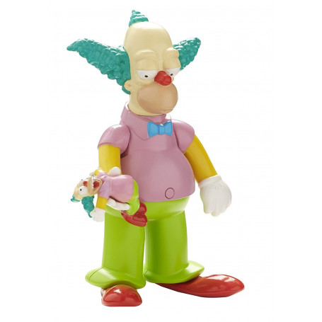 The Simpsons Krusty the Clown Talking Figure