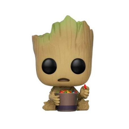 Funko POP Guardians of the Galaxy V2 Groot Bobble Head