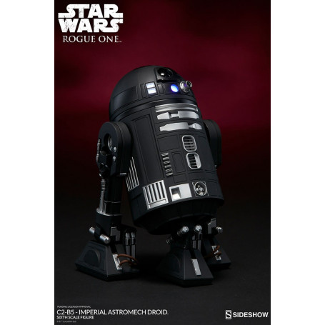 Sideshow Star Wars 1/6 C2-B5 Astromech Droid Rogue One