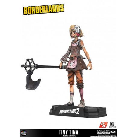 Mcfarlane Borderlands 2 Tiny Tina 18 cm figurine Color Tops